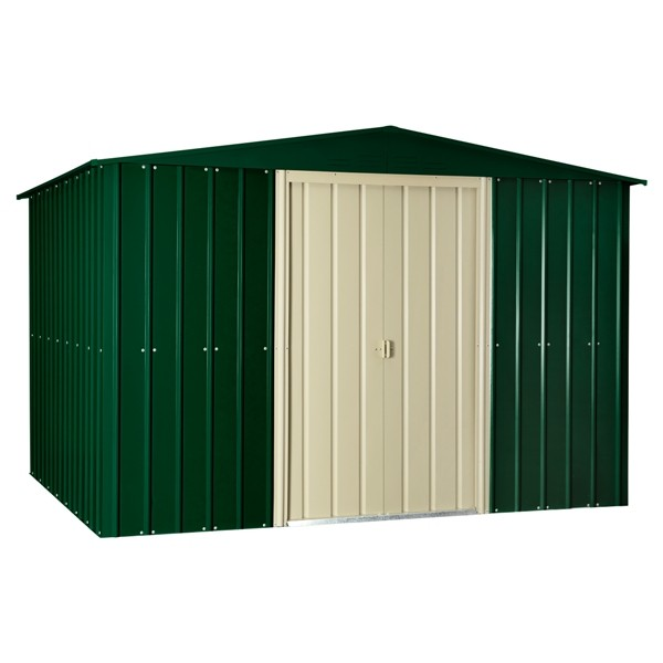 Lotus 10ft x 6ft Metal Apex Shed