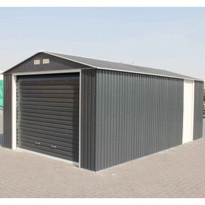 Olympia Anthracite Metal Garage