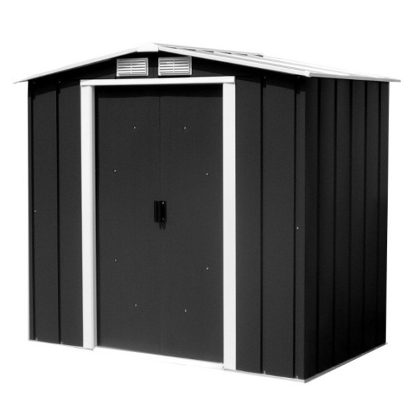 Sapphire 6ft x 4ft Metal Apex Shed