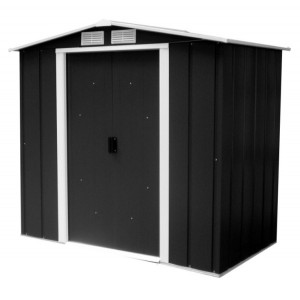 Sapphire 6ft x 6ft Metal Apex Shed