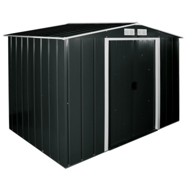 Sapphire 8ft x 6ft Metal Apex Shed