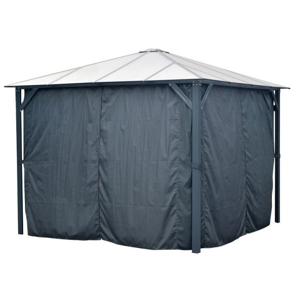 Kingston 10ft x 10ft Gazebo Curtains