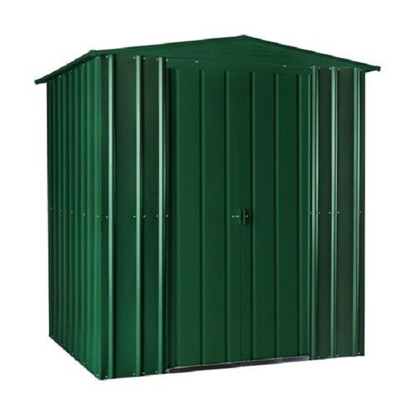 Lotus 6ft x 3ft Metal Apex Shed