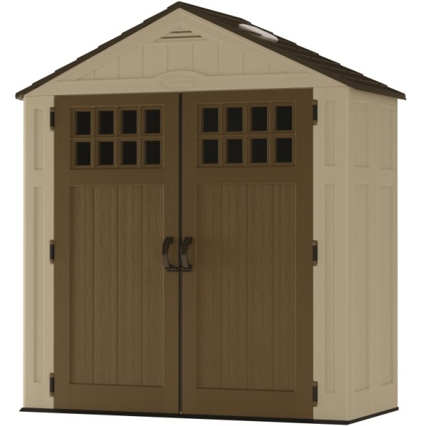 Everett 6ft x 3ft Double Door Plastic Shed