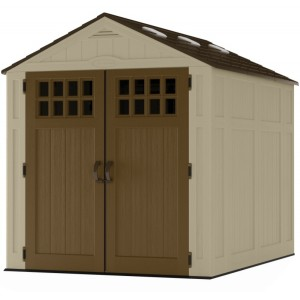 Everett 6ft x 8ft Double Door Plastic Shed