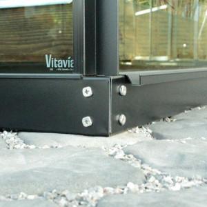 Vitavia Greenhouse Base - Black