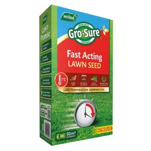 Gro-Sure Fast Acting Lawn Seed 50m2