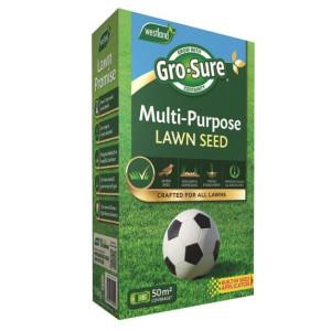 Gro-Sure Multi Purpose Lawn Seed 50m2