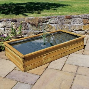 80 Gallon Rectangular Aquatic Planter