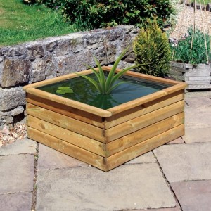 60 Gallon Square Aquatic Planter