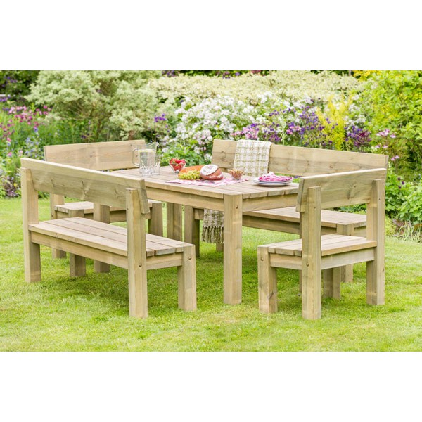 Philippa Table Bench & Chair Set