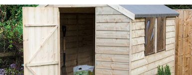 Buying a Garden Shed: The Difference Between Overlap, Shiplap and Tongue & Groove