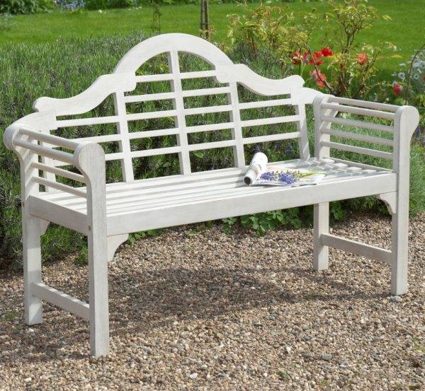 Lutyens Hardwood Garden Bench