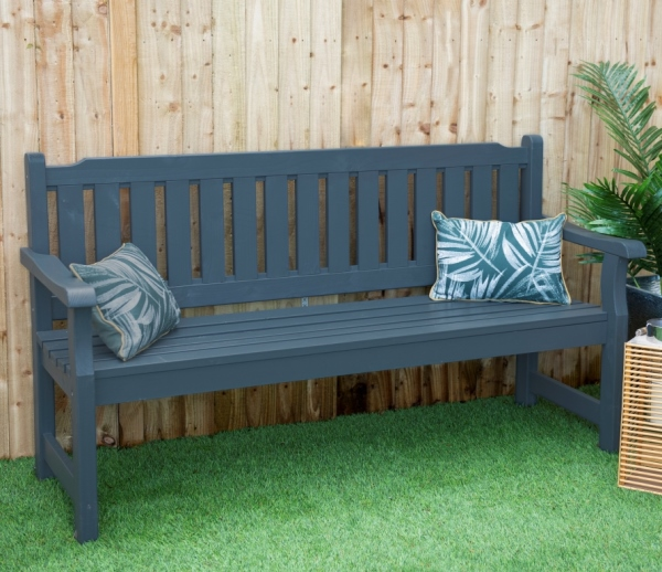 Rosedene Bench Grey
